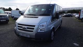 AJ60UBV - Ford Transit Tourneo Tdci 140ps Swb Low Roof 9 Seater Trend Inc Air Con