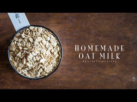 Homemade Oat Milk ☆ オーツミルクの作り方