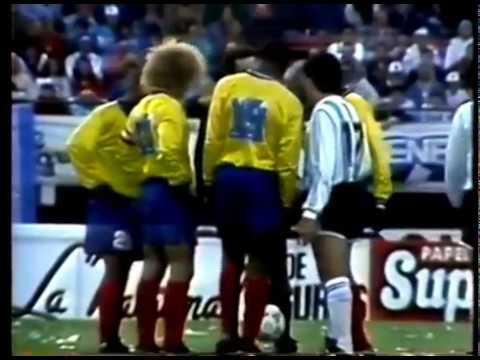 Colombia 5 - 0 Argentina // PARTIDO COMPLETO