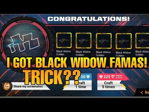 GOT BLACK WIDOW -GOLDEN FAMAS | NEW EVENT DETAILS