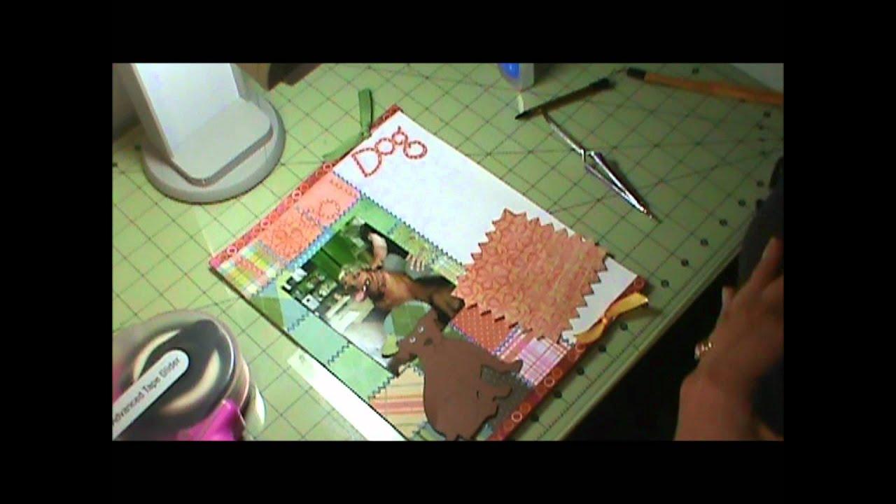 Vietnam scrapbook ideas - 1 Cool Dog Scrapbook Layout