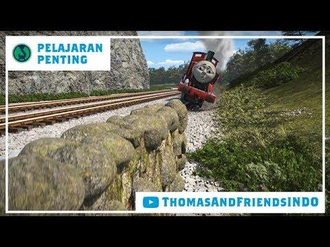 Kereta Thomas & Friends Indonesia - Pelajaran Penting - Jangan Suka Pamer