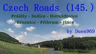 Czech Roads (145.) - Prášily - Sušice - Rabí - Horažďovice - Březnice - Příbram - Jince thumbnail