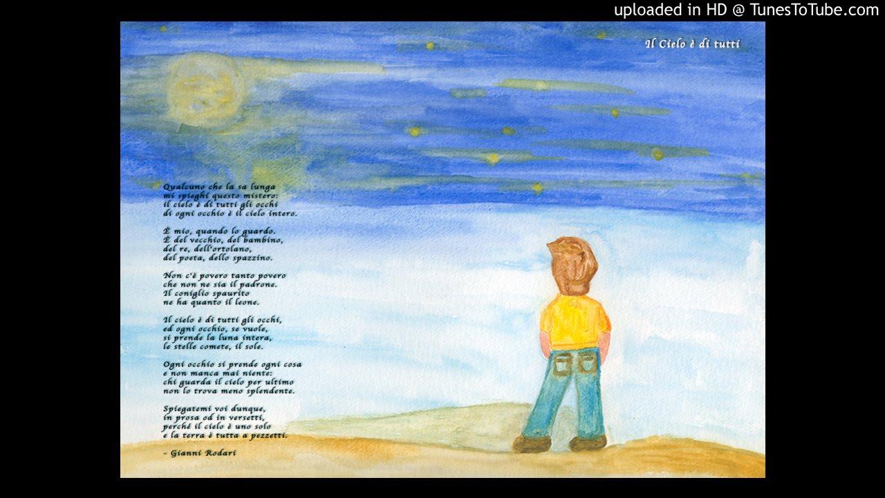 poesie rodari il cielo è di tutti