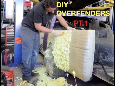 How to shape your own overfenders! Pt.1