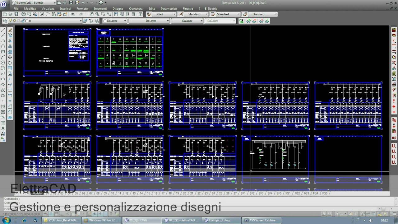 Schemi Elettrici Free Software : Software cad elettrico spac start exe progetti