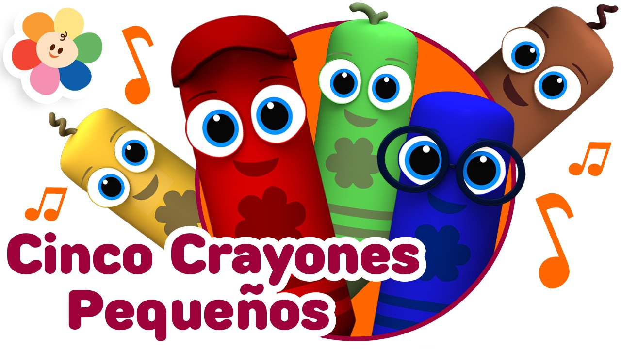 Resultado De Imagen Para Crayones Animadas Imagenes Cinco