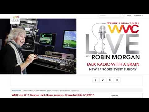 Live with Robin Morgan Interview with Swanee Hunt
