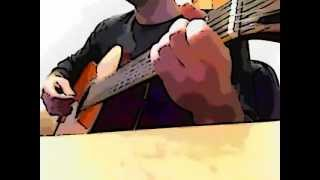 Staind- Its been awhile easy cover with a classic guitar + Chords