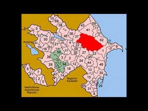 Административное деление Азербайждана