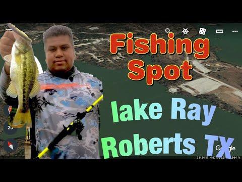 Lake Ray Roberts Fishing Spot #1 Donde Pescar En El Lago Ray Roberts