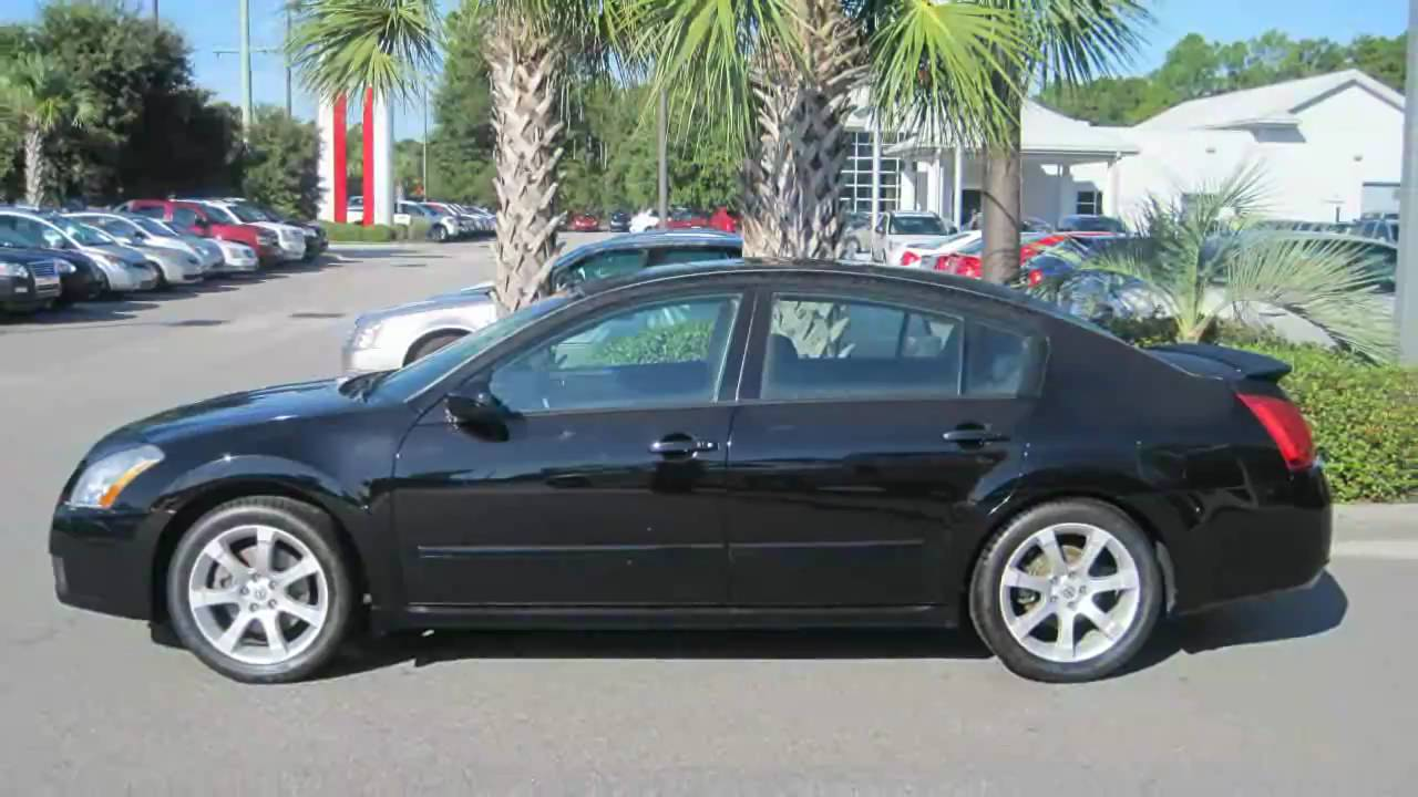 07 Nissan Maxima >> Maxima 2007 Nissan Maxima Se Black Sedan