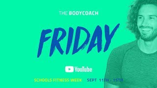 Schools Fitness Week | Friday 15th September