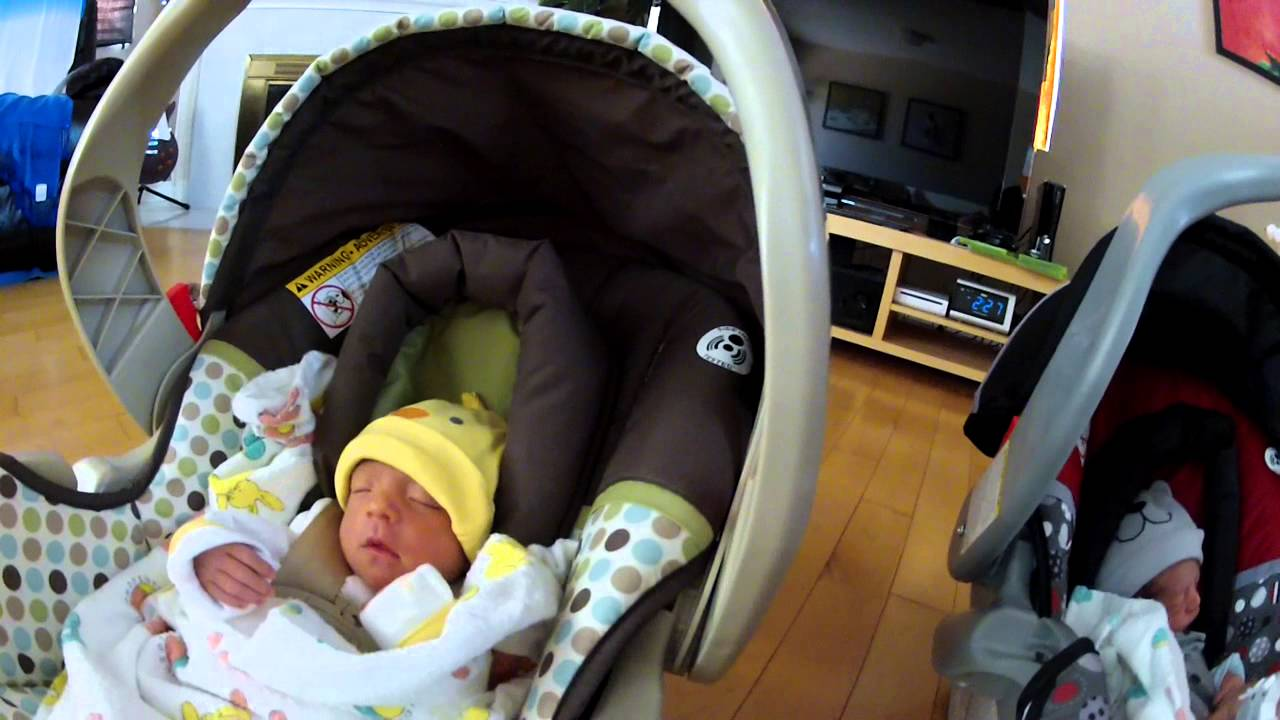 Baby Stroller For Newborn Twins Homecoming Youtube