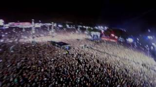 Download Maroon 5 on stage at Rock in Rio Lisboa from a zip-line! Mp3
