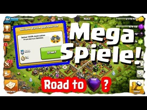 MEGA CLANSPIELE - ROAD TO ? DOCH MAL LEGENDE? | Clash of Clans Deutsch | Let´s Play COC