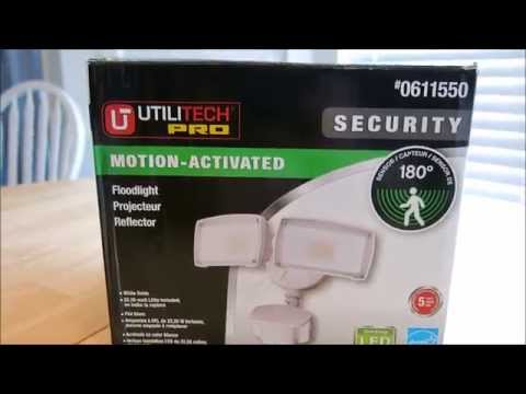 Pra7 reviews utilitech pro security light model 0611550 youtube mozeypictures Choice Image