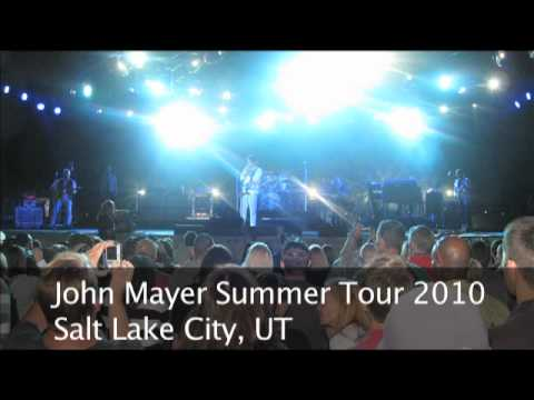 John Mayer - Sitting On The Dock Of The Bay Into Why Georgia: Salt Lake City, UT, August 31, 2010
