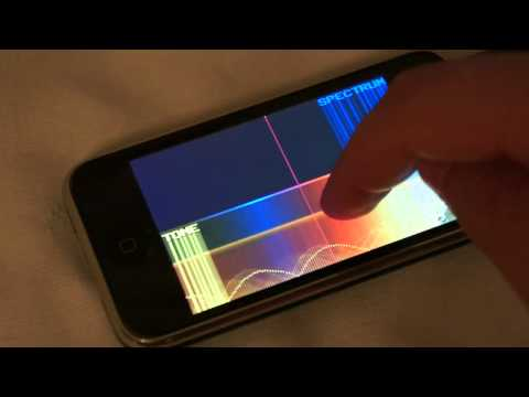 SpectrumGen spectral synth for iOS