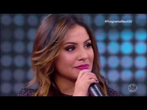 Gabriela Rocha no Raul Gil - Completo