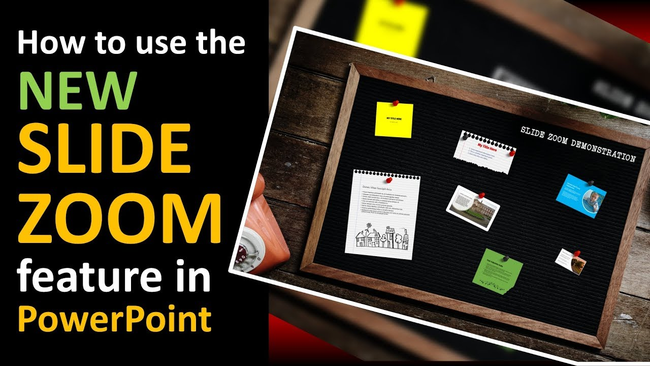 Use The New Slide Zoom Feature In PowerPoint