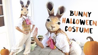 Halloween Bunny Costume: Paper Mache Mask DIY Tips!