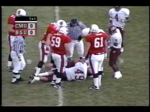 Ball State University Cardinals Vs. Central Michigan University Chippewas Football, 1999