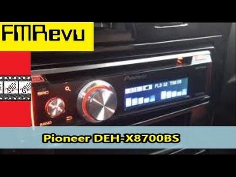 Pioneer DEH X8700BS CD MP3 USB Bluetooth Pandora Radio | Car Audio