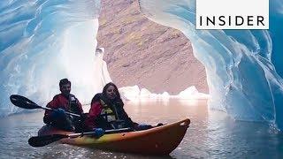 Kayak Inside Iceland's Largest Glacier