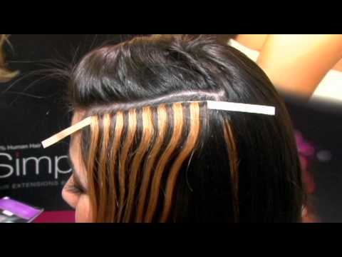 Simplicity Hair Extensions from TressAllure