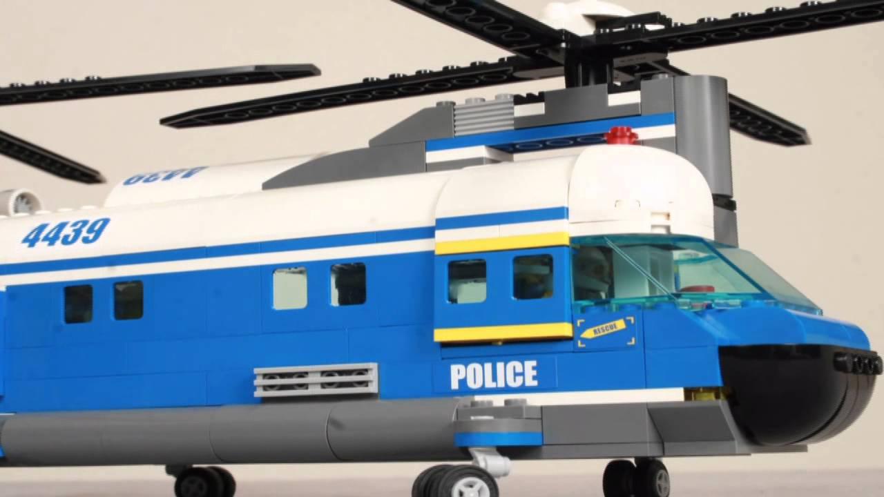 Review: LEGO City 60034 Arctic Helicrane