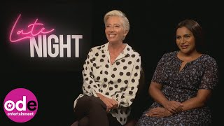Late Night: Emma Thompson and Mindy Kaling reveal what they stole from set!