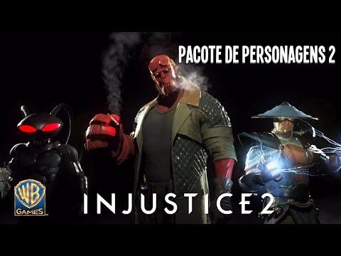 INJUSTICE 2 – PACOTE DE PERSONAGENS 2