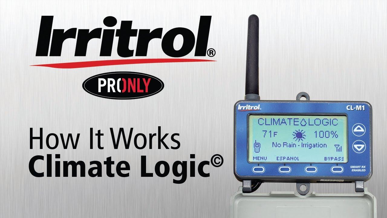 How Irritrol Climate Logic weather system works - Смотреть видео