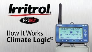 How Irritrol Climate Logic weather system works