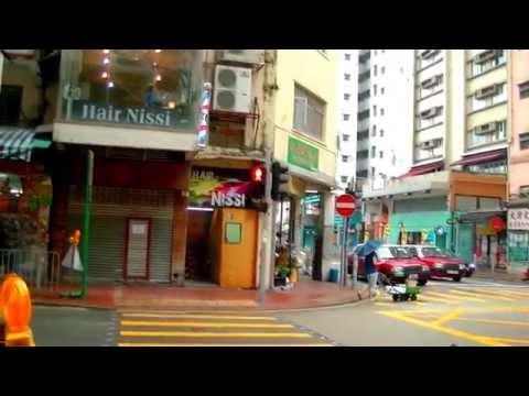 2017-香港自由行---h2機場快線免費接駁巴士上下車站經皇悅及盛捷酒店步行往天后港鐵站