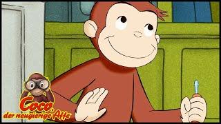 Coco der Neugierige Affe Deutsch 🐵Schilder-Durcheinander 🐵Ganze Folgen🐵Cartoons für Kinder