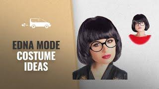 Edna Mode Costume Ideas For Halloween 2018: Black Mode Wig Marcie Costume Edna Costume Wig and