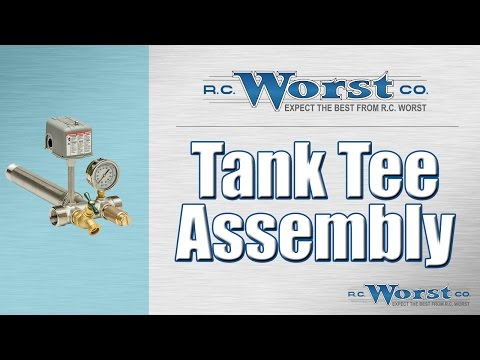 Pressure Tank Tee Assembly
