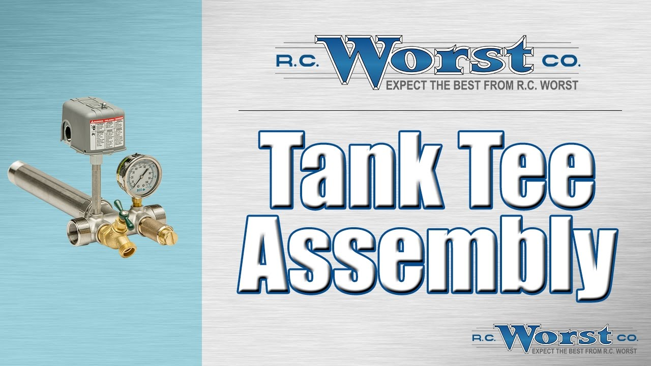 Pressure Tank Tee Assembly - YouTube