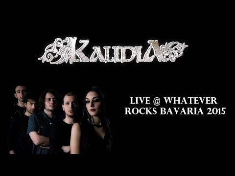 Kalidia live @ Whatever Rocks Bavaria 2015