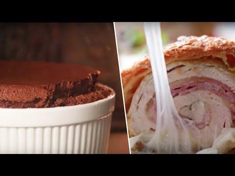 Best Of Alix (Giant Chocolate Souffle, Chicken Cordon Bleu, Cheesy Taquitos) Buzzfeed Test #174