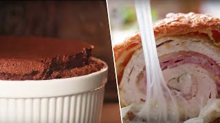 BEST OF ALIX (Giant Chocolate Souffle, Chicken Cordon Bleu, Cheesy Taquitos) Buzzfeed Test #174