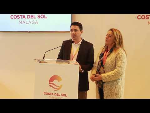Presentación de Arenas en Fitur 2019. Habla su alcalde, Laureano Martín