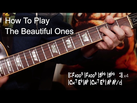 'The Beautiful Ones' Prince Guitar Lesson