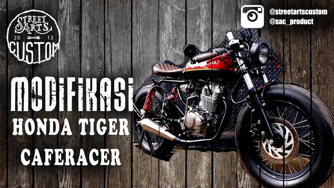 Modifikasi Honda Tiger Caferacer