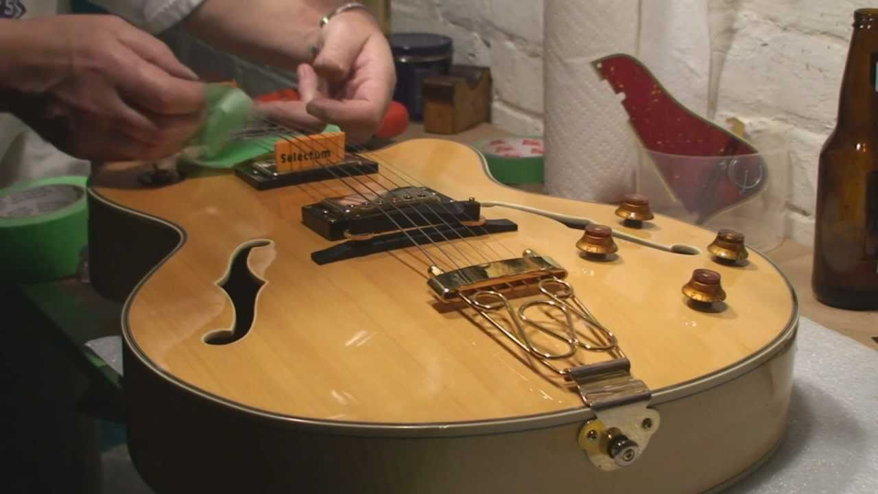 epiphone emperor joe pass archtop guitar setup [ 1280 x 720 Pixel ]