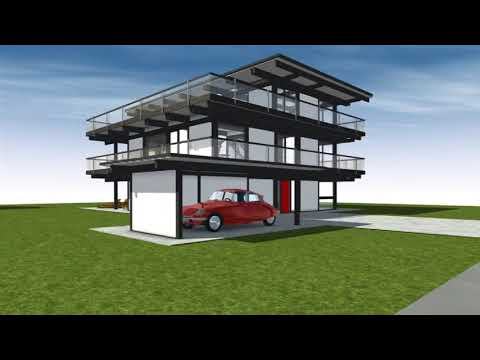 huf haus flat roof youtube. Black Bedroom Furniture Sets. Home Design Ideas