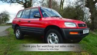 Toyota Rav 4 For Sale with mikeedge7 via eBay