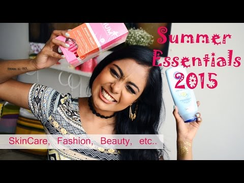Summer Essentials 2015 – Fashion Trends, Makeup trends, Best In Skincare